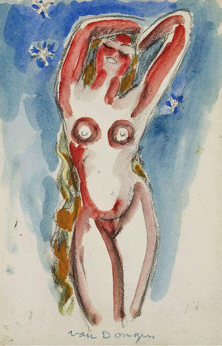 Kees van Dongen (1877-1968)  Van Dongen staat bekend om zijn vele schilderingen van het vrouwelijk naakt. Voor hem was de vrouw 'het mooiste landschap': de vrouw was zijn 'muze'. Een van zijn bekendste modellen was Brigitte Bardot. Zijn sociale en commerciële activiteiten gingen, zo oordelen de meeste deskundigen, ten koste van het artistieke niveau dat hij in zijn jonge jaren had gehaald.
