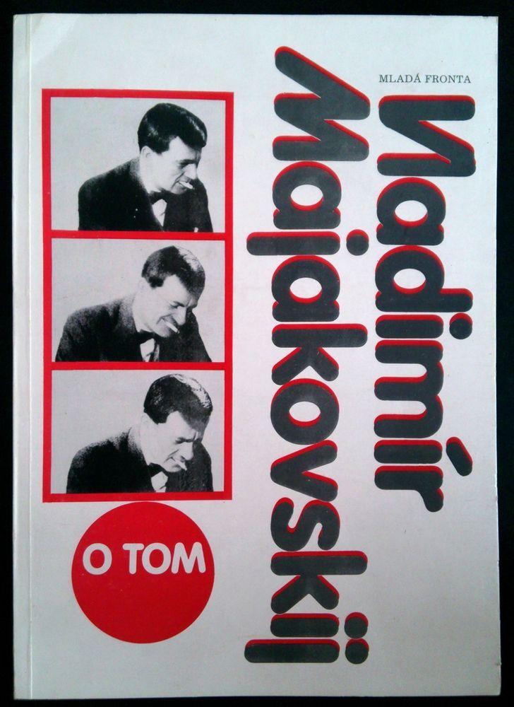 RARE Russian avant-garde Rodchenko El Lissitzky 1987 Vladimir Majakovskij O TOM