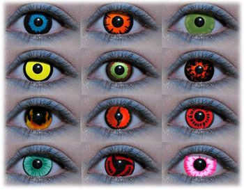 Colored Contact Lenses | custom contact lenses