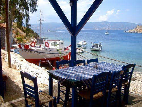 Mandraki, Hydra, Greece