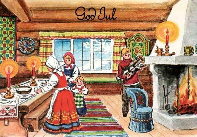 Julekort George Schumann (Kortforlaget 467)