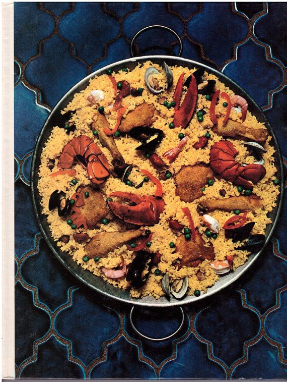 Cooking of Spain & Portugal Foods of the World Time Life