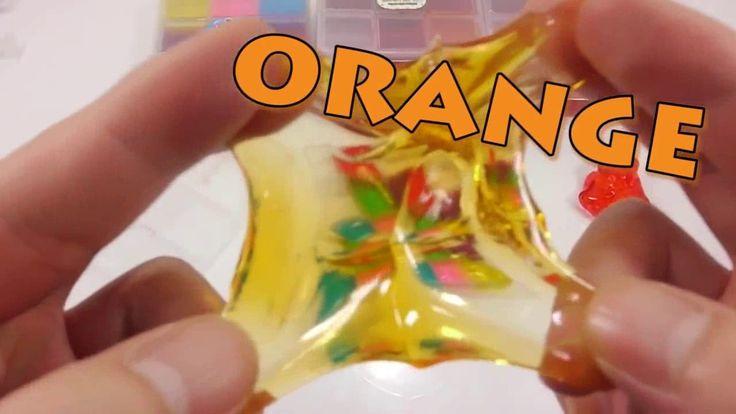 Diy Farben Weichen Süßigkeiten Gelee Gummy Lernen Farben Schleim Ballon Kinetischen Sand Eis