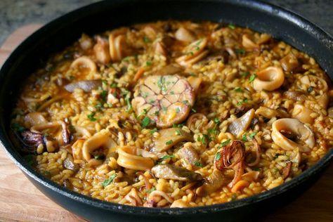 6 recetas diferentes de arroces y paellas. ¡Perfecto para los amantes del arroz!