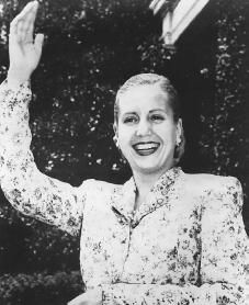 Eva Perón, born on May 7, 1919, was the second wife and political partner of President Juan Perón (1895–1974) of Argentina.