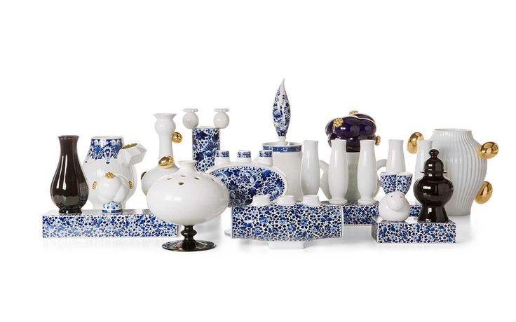 Acessórios Decorativos e Funcionais para a Sala de Jantar Marcel Wanders Vasos