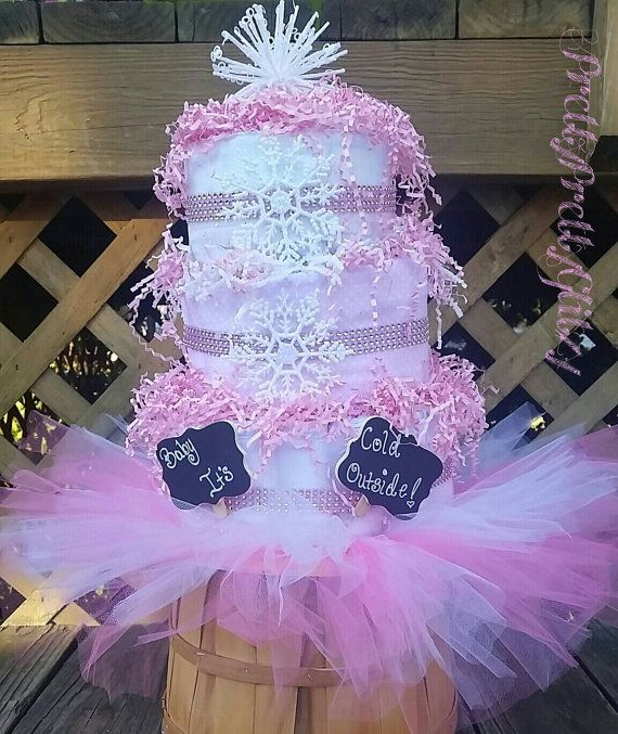 Baby It's Cold Outside Baby Shower Girl by PrettyPrettyGlitzy