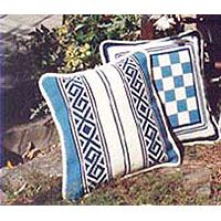 Small Game Board 02, Greek Border 01 - two blue and white patterns available at 20% off Retail during our special offers in June and November