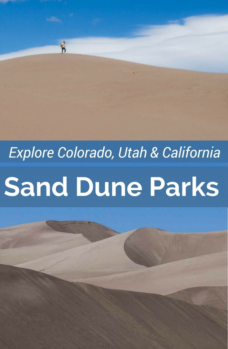 Visit these sand dune parks in the Western United States. Perfect for a road trip including Zion National Park, Great Sand Dunes Park, Death Valley and San Francisco. Hit up all these parks in Colorado, California & Utah