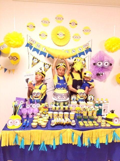 ミニオンズパーティー&マイバースデー の画像|にゃるのブログ