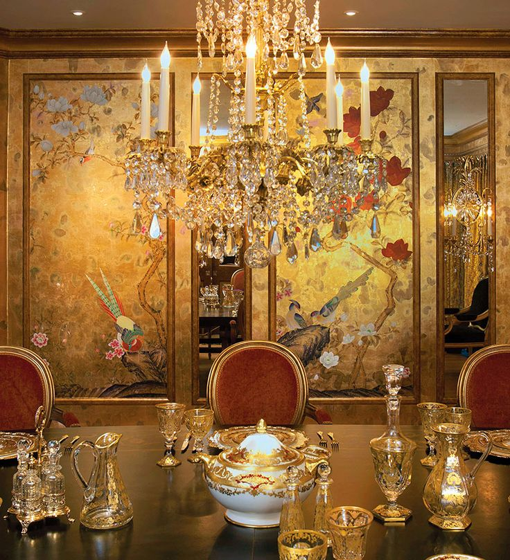 Japanese Dining Room: 11 Best De Gournay Dining Rooms Images On Pinterest