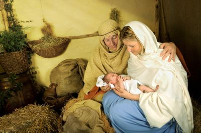 Christian Halloween Costumes: Christian Halloween Costume #13: The Holy Family