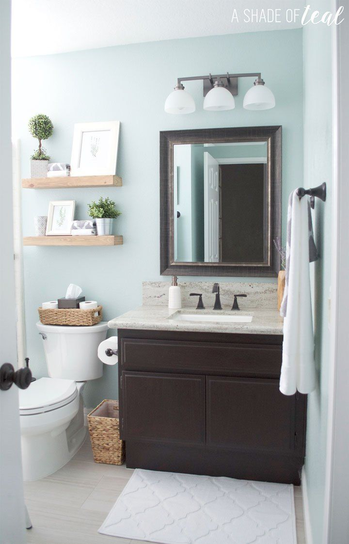 Paint Colors Used In My Modern Rustic Home Rustic Modern Bathroom Rustic Bathroom Painting Bathroom