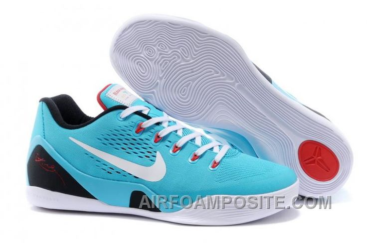 """http://www.airfoamposite.com/cheap-nike-kobe-9-em-dusty-cactus-gym-bluewhite-for-sale-new.html CHEAP NIKE KOBE 9 EM """"DUSTY CACTUS"""" GYM BLUE-WHITE FOR SALE NEW Only $98.00 , Free Shipping!"""