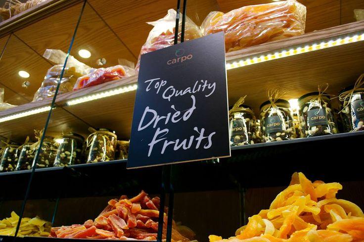The Store | Carpo London- nuts, berries, coffee