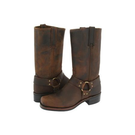 Frye Harness 12R Men's Pull-on Boots - Gaucho