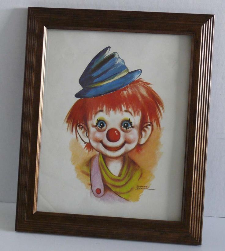 1970s clown decor