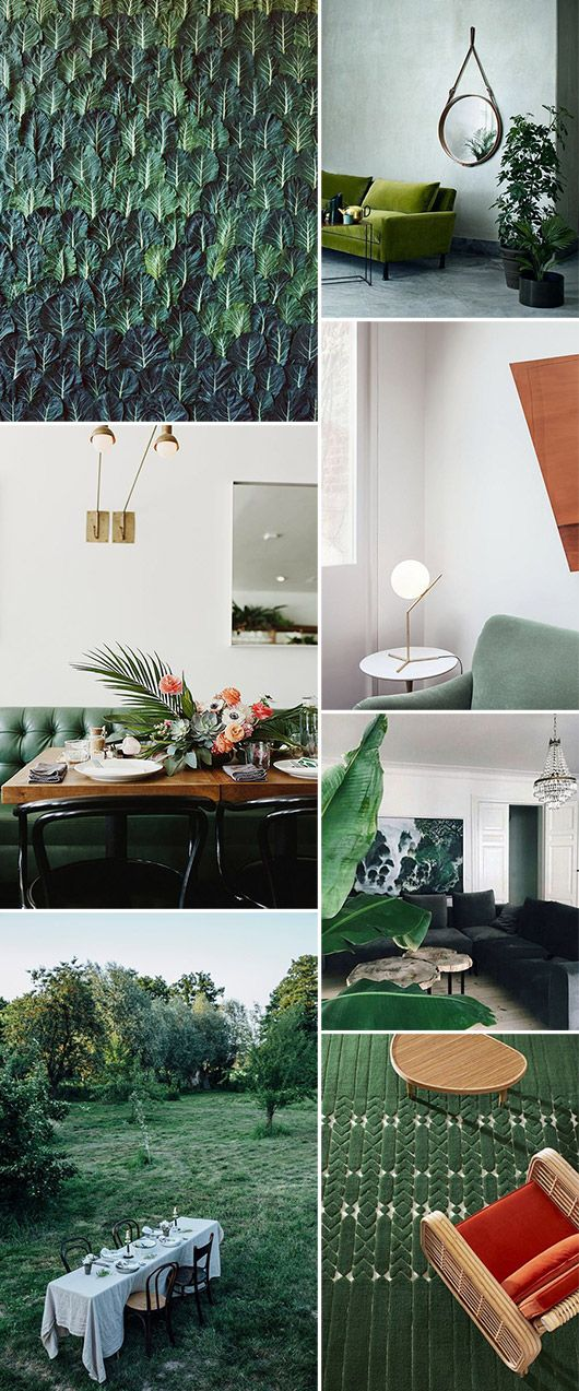 993 best cool spaces images on pinterest architecture for Emerald city wall mural