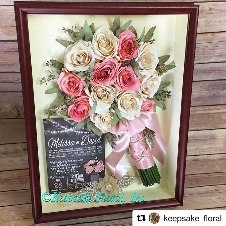 such a cool idea to preserve your bridal bouquet along with an invite from your wedding. would make a beautiful gift! check this page out!! #Repost @keepsake_floral with @repostapp  Stunning pink and white #rose bridal bouquet preserved and displayed alongside their #weddinginvitation #floralpreservation #weddingbouquet #bridalbouquet #wedding #bride #love #instawed #instaflowers #flowers #picoftheday #photooftheday #letuspreserveyourbouquet #keepsakefloral #pink #weddingwednesday #wednesday