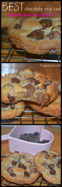 I AM SHARING MY SECRET FOR MAKING EXTRA THICK CHOCOLATE CHIP COOKIES - Hugs and Cookies XOXO