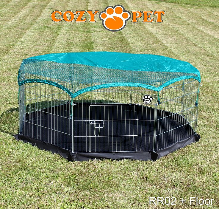 Cozy Pet Rabbit Run Playpen Rectangular 5 Ft 10 In Long x 3 Ft 11 In Wide (1.8m x 1.17m) with Protective Cover Guinea Pig Pen, Dog Puppy Cage Ferret Play Pen RR04. (We do not ship to Northern Ireland, Scottish Highlands & Islands, Channel Islands, IOM or IOW.): Amazon.co.uk: Pet Supplies