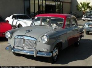 1956 Triumph Standard Vanguard 3 Sportsman Sedan 1 of 12 in Operating Condition - http://sickestcars.com/2013/05/27/1956-triumph-standard-vanguard-3-sportsman-sedan-1-of-12-in-operating-condition/
