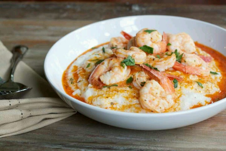 Shrimp Polenta | All things seafood | Pinterest | Shrimp and Polenta