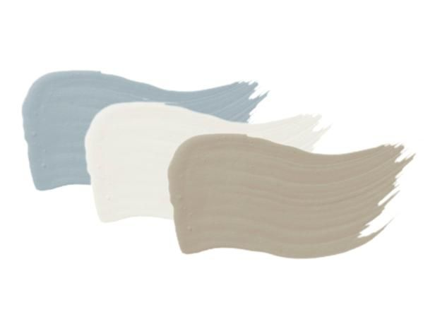 Paint Colors - Copy the Charming Curb Appeal on HGTV; Copen Blue and Silver Gray by Sherwin Williams