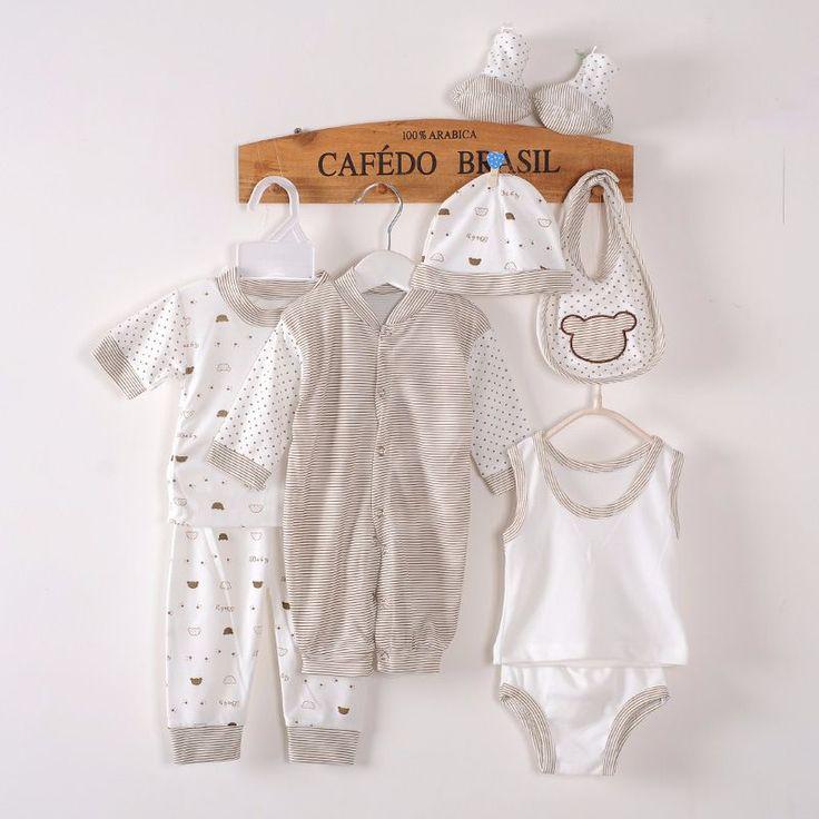 Summer Autumn Newborn Clothing High Quality Set 100% Cotton http://mobwizard.com/product/8pcs0-3mhigh-quali32603121247/