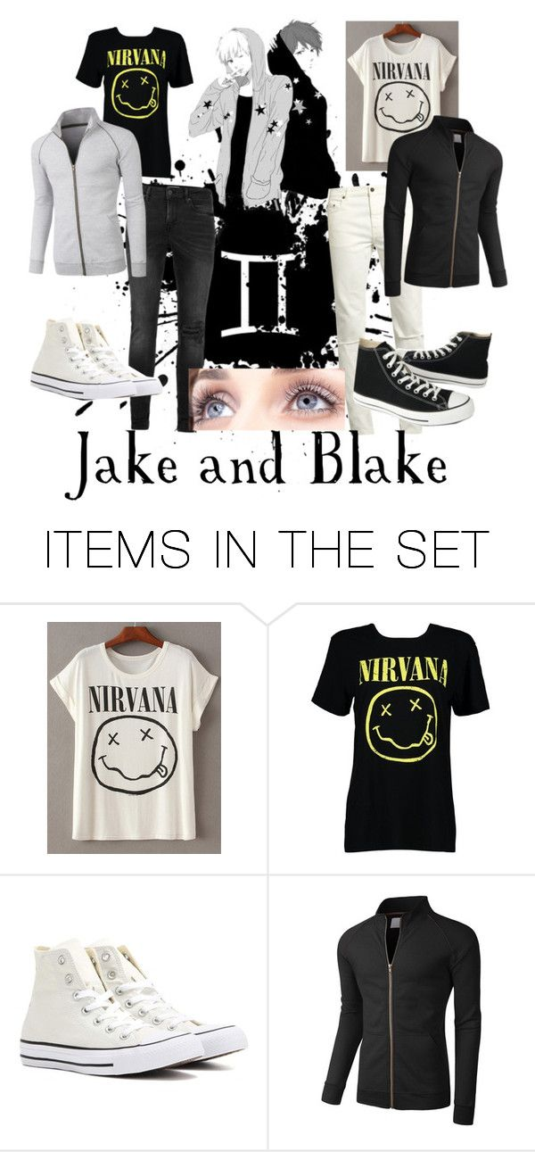 """""""Jake and Blake///Gemini"""" by lyonserenity ❤ liked on Polyvore featuring art"""