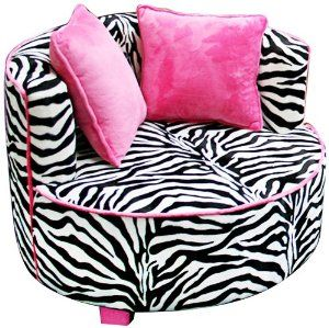 Amazon.com: Newco Kids Redondo Chair, Minky Zebra: Baby I love it so!