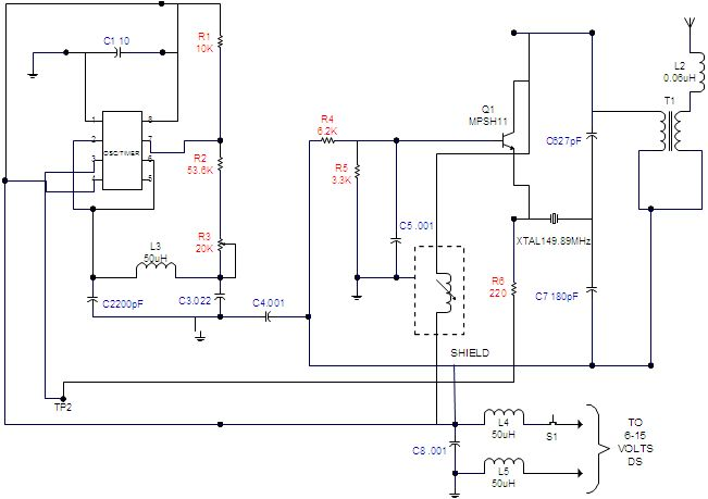 Led Based Transistor Tester Electronic Circuits And Diagram