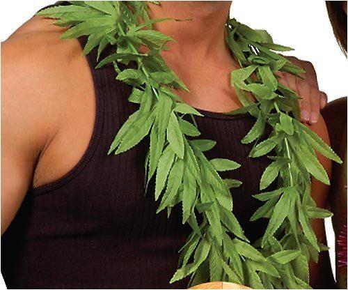12 pièces Luau hawaïen Tropical Party vert feuilles Leis - Luau Party Supplies assorties - Hawaiian Party Supplies - Luau - mariage