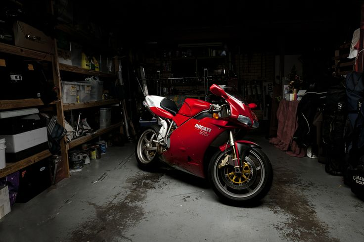 Because Pinterest deleted my account without warning I have to repin all my pins Ducati 998. Still the one