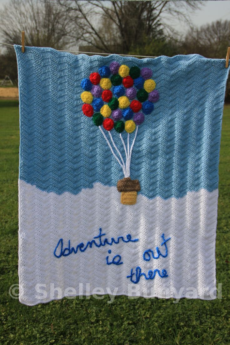 209 best free crochet patterns images on pinterest craft how sweet is this hot air balloon baby blanket crochet pattern bankloansurffo Choice Image