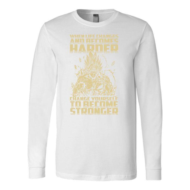 Super Saiyan Bardock become stronger Long Sleeve T shirt - TL00476LS