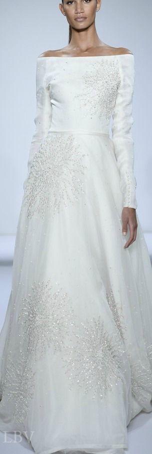 Dennis Basso for Kleinfeld Fall 2015 ♥✤ Bridal Fashion Week | LBV