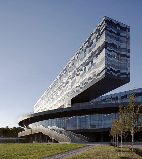 Moscow School of Management Skolkovo by Adjaye Associates ☮k☮ #architecture