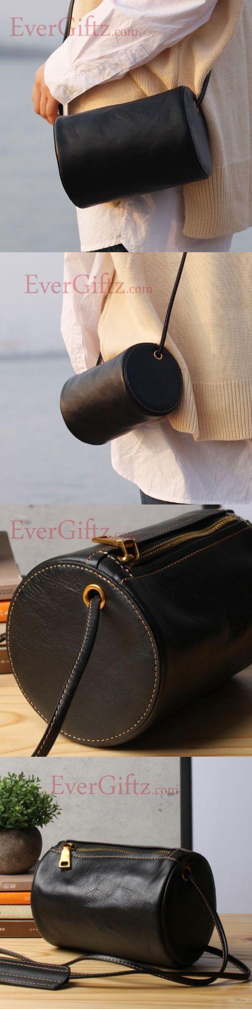 Genuine leather vintage women handbag shoulder bag crossbody bag