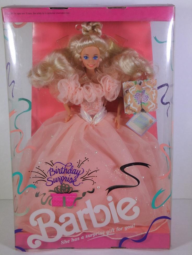 1991 Birthday Surprise Barbie Barbie Blast from the Past