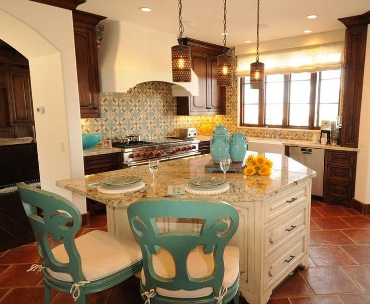 38 best images about spanish style kitchens on pinterest for Spanish style kitchen decor