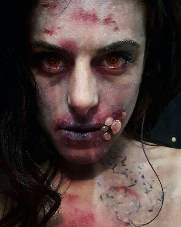 Maquillage zombie homme cheap maquillage sorciere enfant halloween with maquillage zombie homme - Maquillage zombie homme ...
