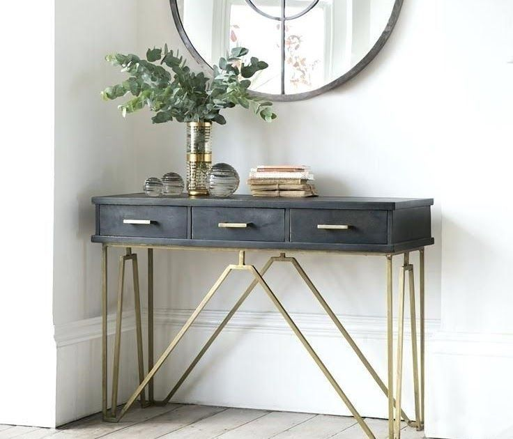 Narrow Hall Table Best Small Console Tables Ideas On Hall Corner