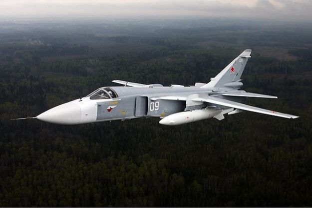 Russian Sukhoi SU-24 Fencer