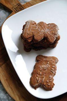 Glutenvrije speculaas koekjes zonder geraffineerde suiker en lactosevrij