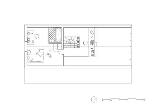 IST-Family House,Second Floor Plan