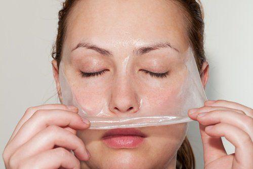Mascarilla facial para pieles grasas