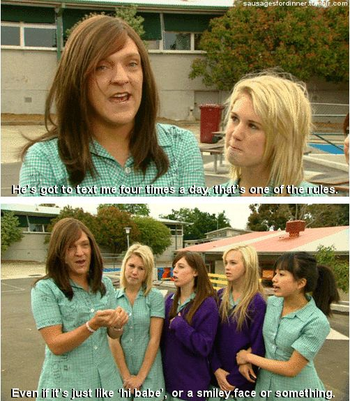 """Know relationships can be hard, so set some ground rules:   How To Survive High School, According To """"Summer Heights High"""""""