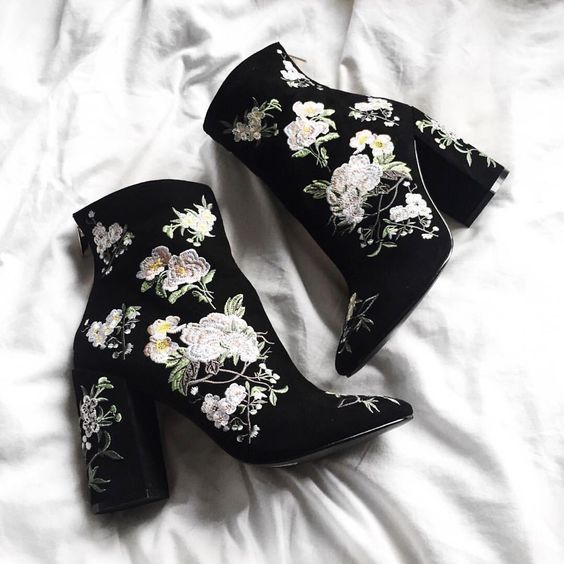 Gorgeous embellished booties