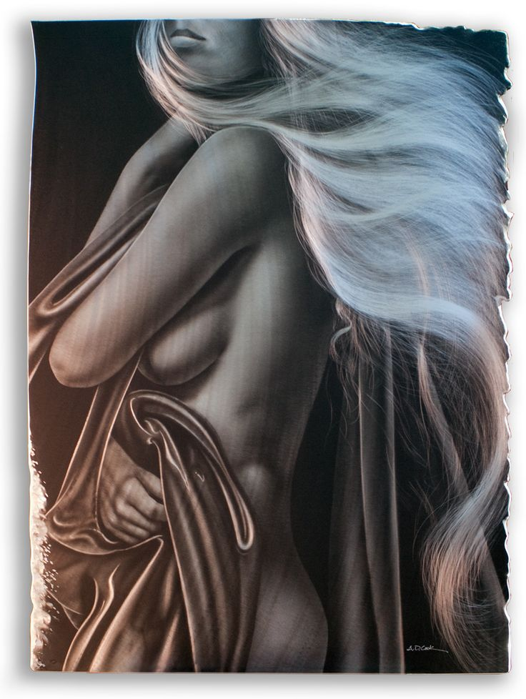 ANTHEM by A.D. Cook - figurative metal art.